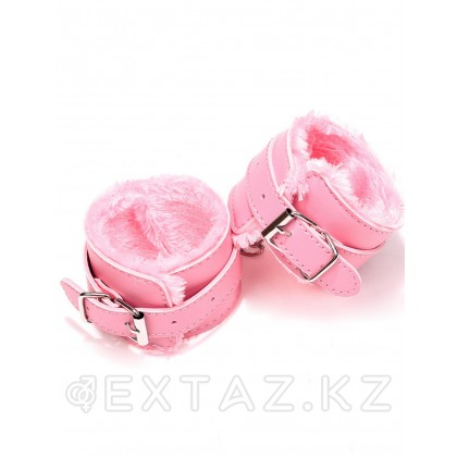 Наручники на меху SM Bondage Pink от sex shop Extaz